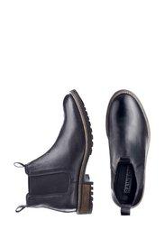 Замшевые ботинки-челси (черный) Bonprix