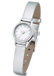 Часы (черный плетеный/серебристый) Bonprix