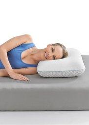 Двухсторонняя подушка Термофит комфорт (белый) Bonprix