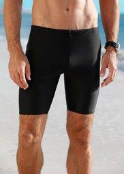 Мужские купальные шорты (черный) Bonprix