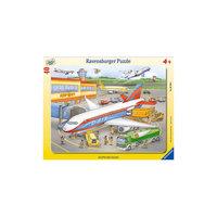 "Пазл ""Маленький аэропорт"" Ravensburger, 40 деталей"