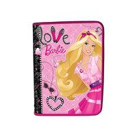 Папка для тетрадей А5, на молнии, Barbie Академия групп