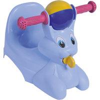 """Горшок-игрушка """"Зайчик"""", Little Angel, голубой"""