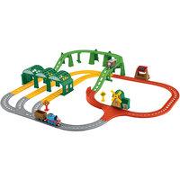 """Премиальный набор """"Гонка вокруг острова Содор"""", Томас и его друзья Mattel"""