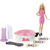 Набор для создания цветных нарядов и кукла, Barbie Mattel