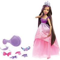 Кукла большого размера с длинными волосами, Barbie Mattel