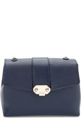 Кожаная сумка на цепочке Armani Collezioni