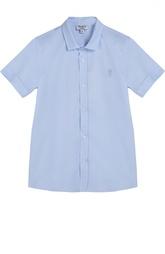 Хлопковая рубашка с коротким рукавом Aletta