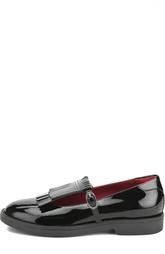 Лаковые туфли с бахромой Dolce & Gabbana