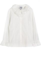 Блуза из эластичного хлопка Aletta