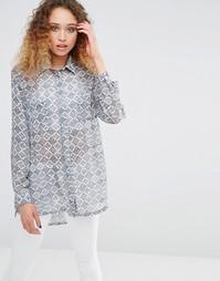 Рубашка с принтом Daisy Street - Принт