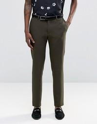 Узкие брюки цвета хаки ASOS - Хаки