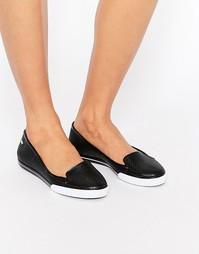 Туфли на плоской подошве Zaxy City - Черный
