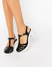 Туфли на каблуке Zaxy Dream - Black contrast