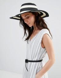 Соломенная шляпа с полосками Liquorish