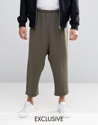 Свободная юбка‑шорты Reclaimed Vintage - Хаки