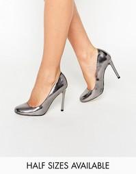 Туфли на высоком каблуке ASOS PLAYTIME - Pewter