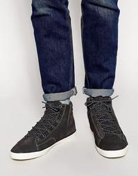 Замшевые кроссовки Jack & Jones Cardiff - Серый