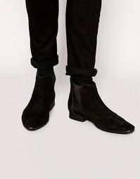 Замшевые ботинки челси Frank Wright - Черный
