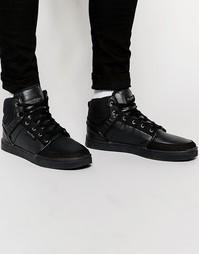 Высокие кроссовки Rock & Religion - Черный