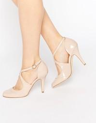 Туфли на каблуке с ремешками крест-накрест Miss KG Natalie