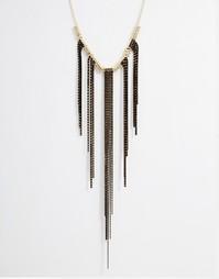 Ожерелье с бахромой Nali