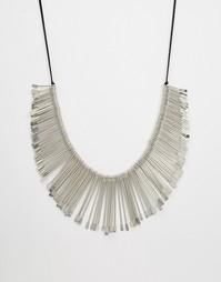 Ожерелье в винтажном стиле Raga - Серебряный
