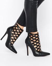 Туфли на каблуке с вырезами Truffle Collection Skye