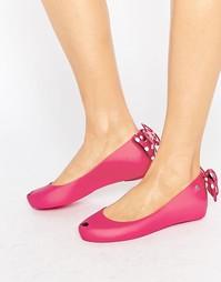 Туфли на плоской подошве Melissa Ultragirl Minnie Mouse - Розовый