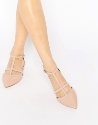 Туфли с Т-образным ремешком Carvela Mixx - Телесный