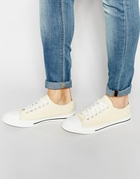 Кеды на шнуровке Brave Soul - Белый