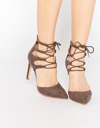Туфли на каблуке Truffle Collection Nova Ghillie - Taupe mf