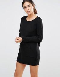 Платье-джемпер See U Soon - Черный