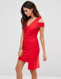 Красное платье Adelyn Rae - Красный
