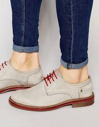 Туфли дерби с контрастными шнурками Rule London - Серый