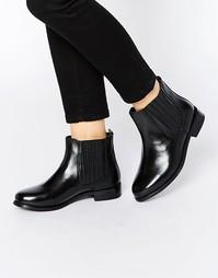Кожаные ботинки челси Rule London Verity - Черная кожа