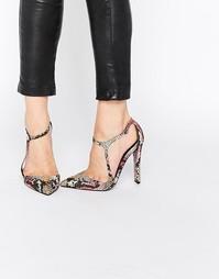 Туфли на каблуке с ремешком вокруг щиколотки Paper Dolls Evangeline