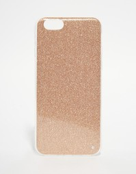 Чехол с блестками для iPhone 6 Signature - Золотой