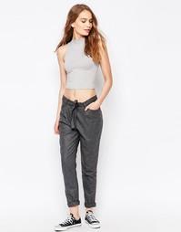 Just Female Liberty Wool Trousers - Серый меланж
