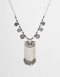 Броское нарядное ожерелье Ashiana - Серебряный