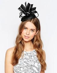 Обруч для волос с вуалеткой и отделкой стразами Elegance Pillbox
