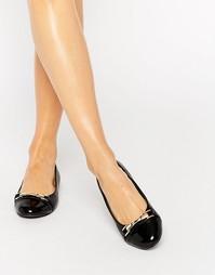 Балетки с пряжками Miss KG Nakita - Black synthetic