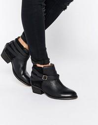 Черные кожаные ботильоны Hudson London - Черный