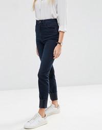 Темные джинсы в винтажном стиле с завышенной талией ASOS FARLEIGH