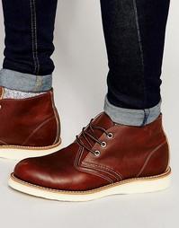 Кожаные ботинки чукка Red Wing - Коричневый