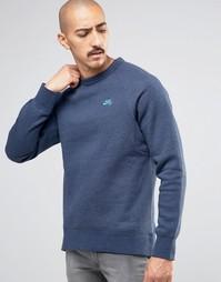 Синий свитшот Nike SB 800153-473 - Синий