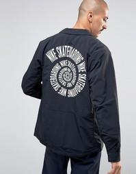 Черная спортивная куртка Nike SB 800178-010 - Черный