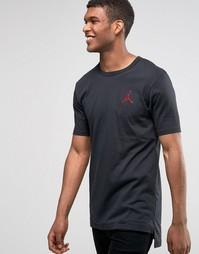 Черная футболка Nike Jordan Jumpman 749475-010 - Черный