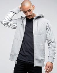 Серое худи Nike SB Everett Fz 800143-063 - Серый