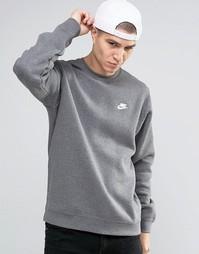 Серый свитшот Nike 804340-071 - Серый